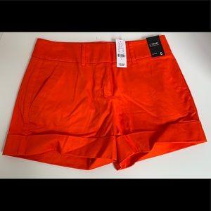 New York & Company- Orange Shorts